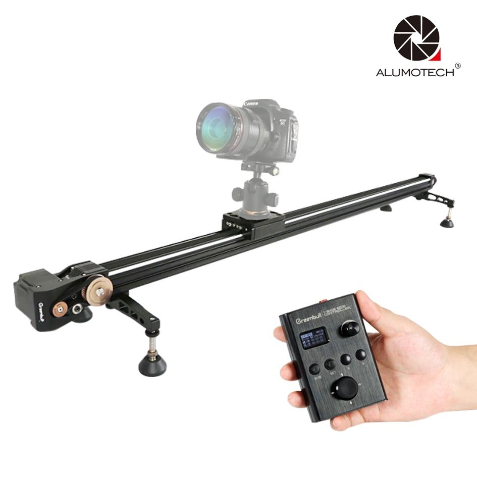 X6 59 Electronic Control Track Dolly Slider Rail For DSLR Camera Video Studio ye 5d2 super mute 3 wheel truck dolly slider skater for dslr camera black