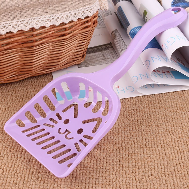 New Pet Products Shovel Cat Litter Plastic Scoop Cat Sand Cleaning Dog Food Spoons Cat sand shovel Pet Supplies PH45 (5)