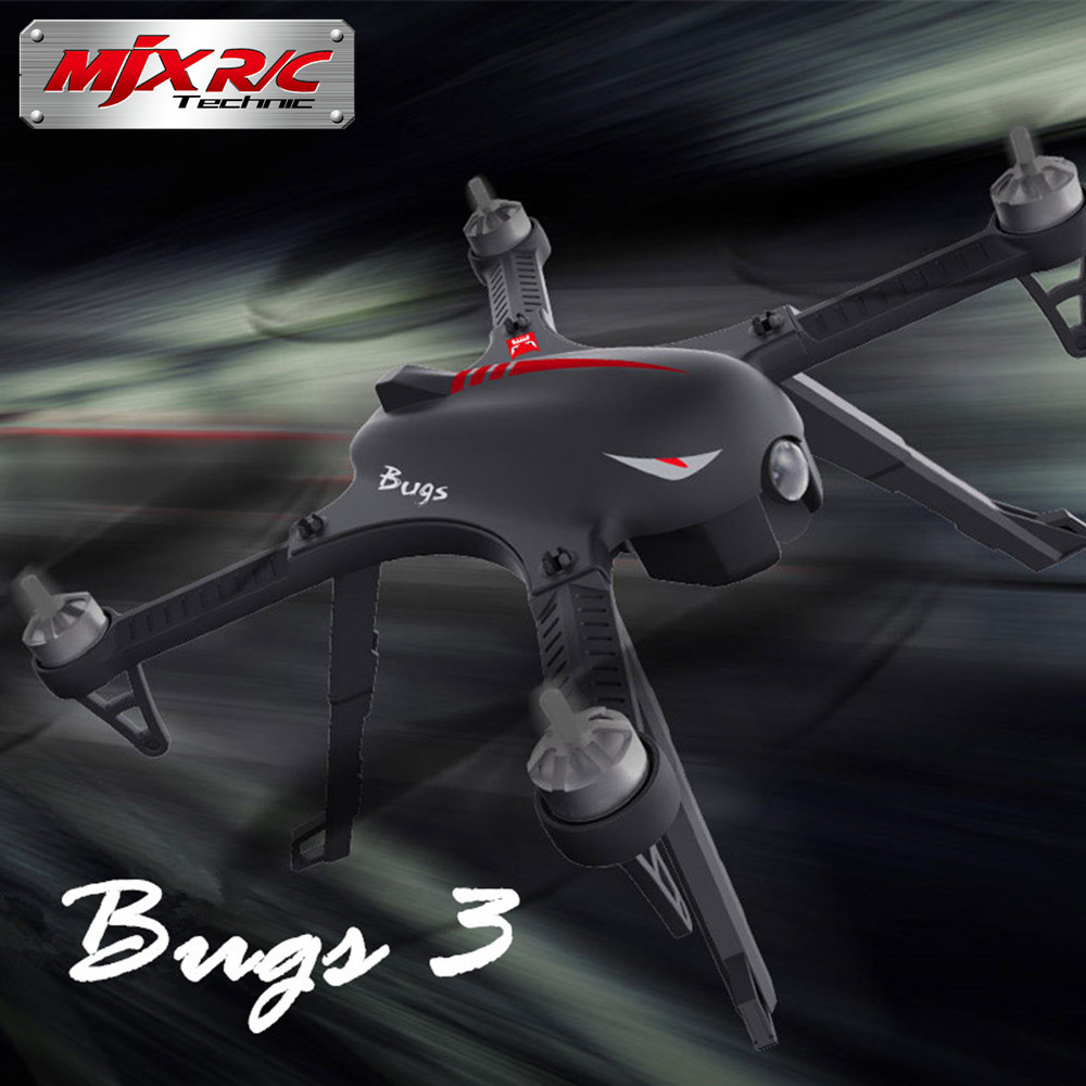 MJX Bugs B RC Quadcopter Brushless G CH Axis Gyro Drone with