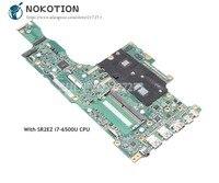 NOKOTION For Acer aspire R5 571 R5 571TG 78G6 Laptop Motherboard SR2EZ i7 6500U CPU NBGCF11002 NBGCF11002 P5HCT MAIN BOARD