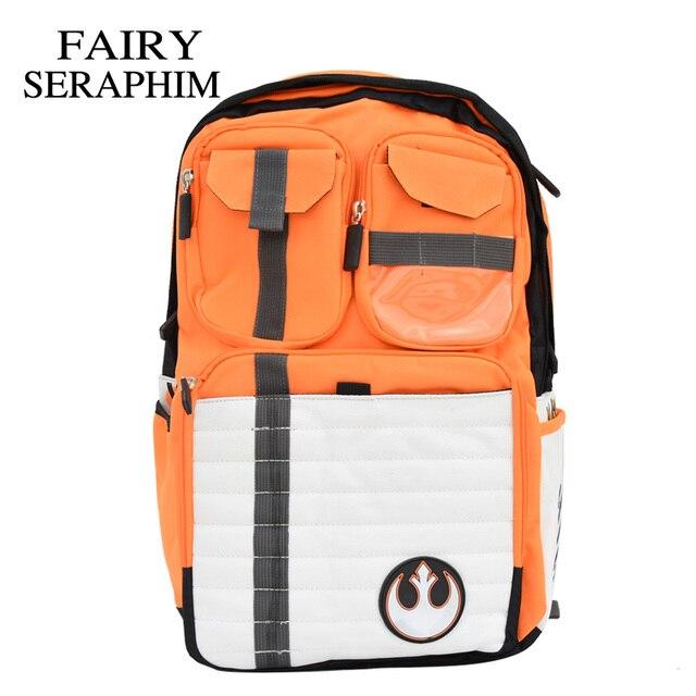FAIRY SERAPHIM New Star Wars Backpack Rebels Logo Alliance Icon Polyester  Teenager School Bag Children men Rucksack 4a9f25a58aa0e