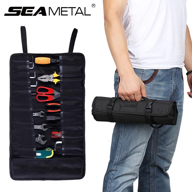 Velcro Organiser Tools Breakdown Travel Tidy Case Large Car Van Boot Storage Bag