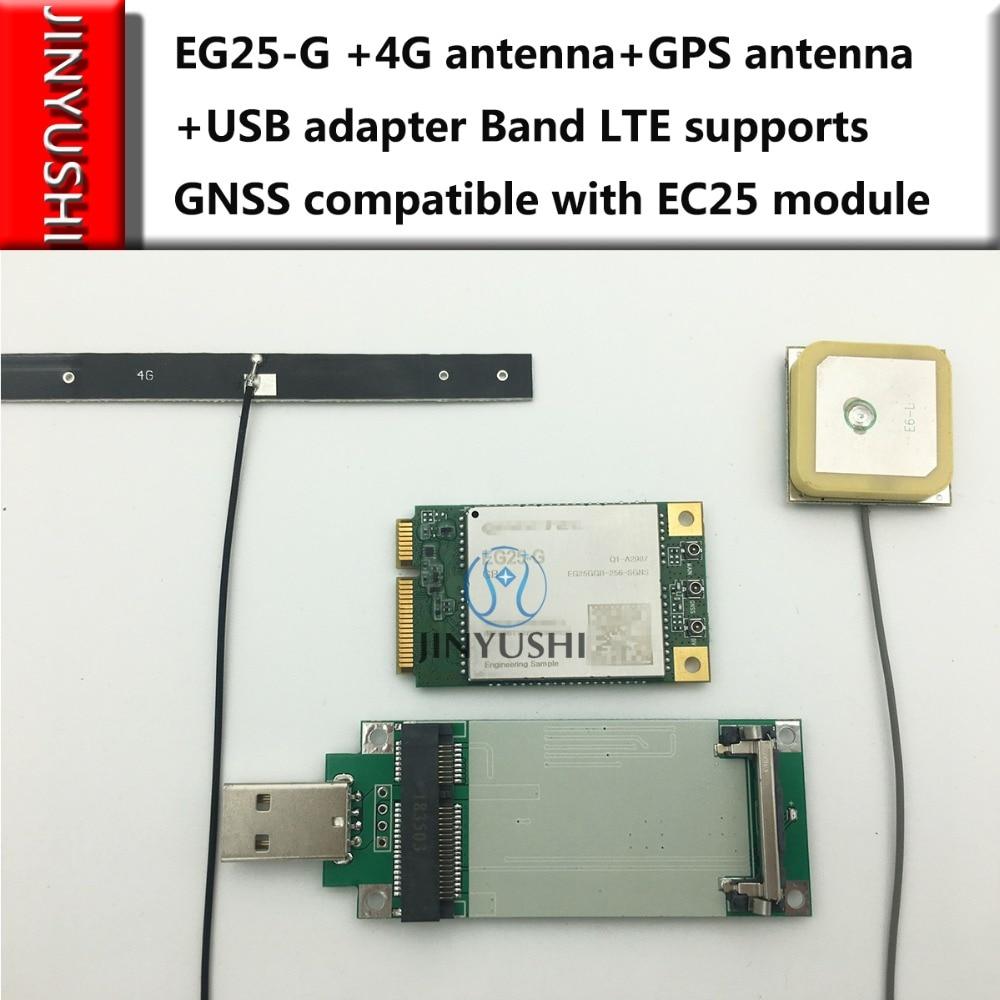 JINYUSHI para EG25 EG25 G + antena 4G + Antena GPS + adaptador con ranura para tarjeta SIM compatible con LTE GNSS compatible con el módulo EC25-in Módems from Ordenadores y oficina on AliExpress - 11.11_Double 11_Singles' Day 1