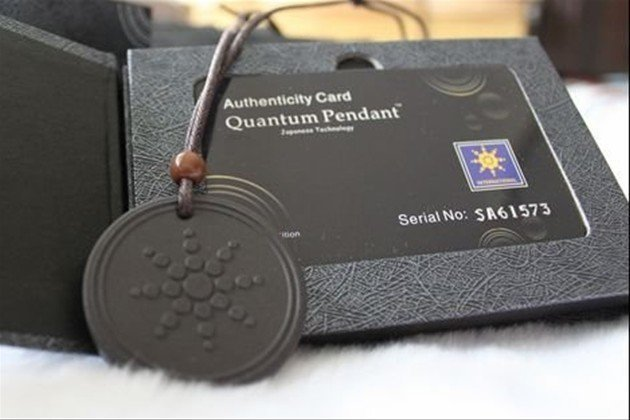 Free shipping 10pcs lot Quantum Scalar Energy Pendant 6000 7000 ions with Test Video with Card