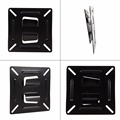 12-24 inch Universal LCD Monitor TV Mount Holder Wall Shelf Bracket Under TV Component Displayer Wall Hanging Bracket Stand