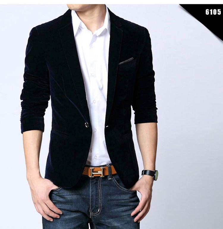 Aliexpress.com : Buy Men Blazer slim fit suit jacket Brand New ...