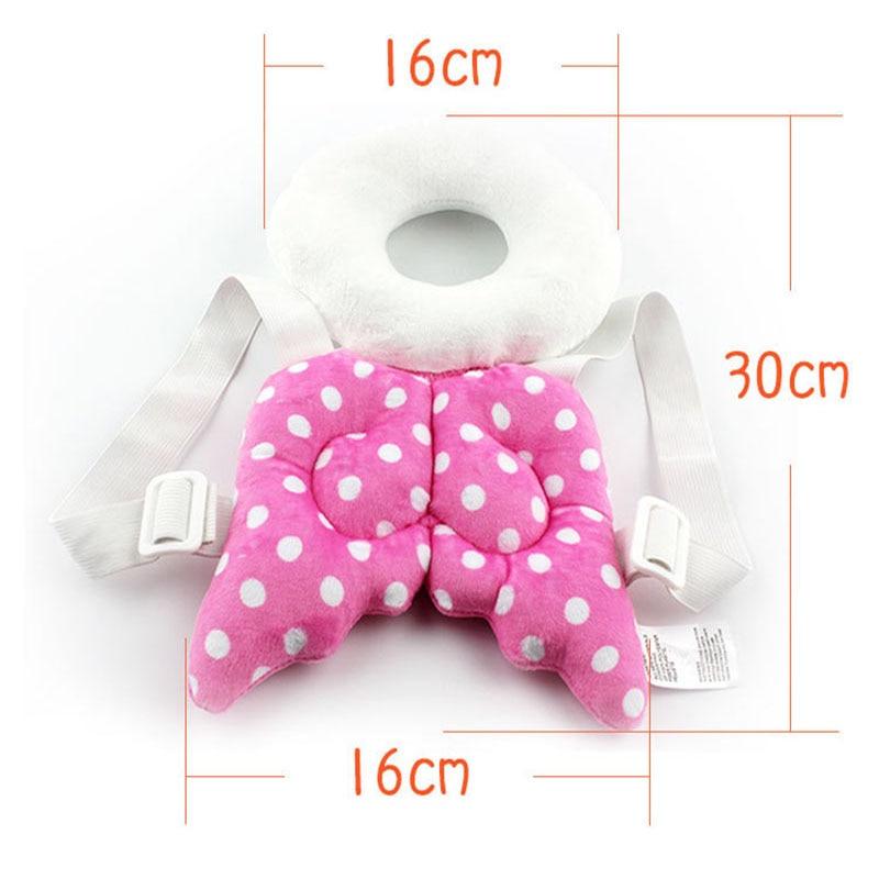 Multifunctionele baby hoofd beschermende mat engelenvleugels Peuters - Beddegoed - Foto 4
