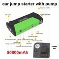 Mini Car Jump Starter 10000mah Emergency Start 12V Petrol/Diesel Engine functional 2 USB Power Bank Battery Charger