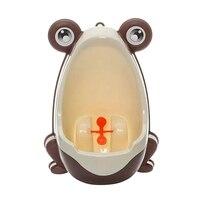 Лучшая цена Новый лягушка детская горшок туалет обучение детей Писсуар для мальчиков Pee тренер ванная комната