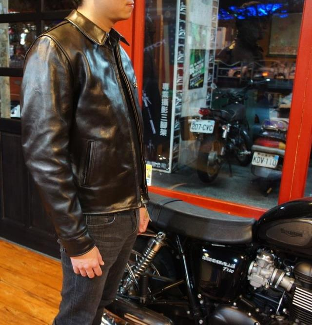 Free shipping cool Brand classic horseskin coat man s genuine leather Jackets men s slim japan
