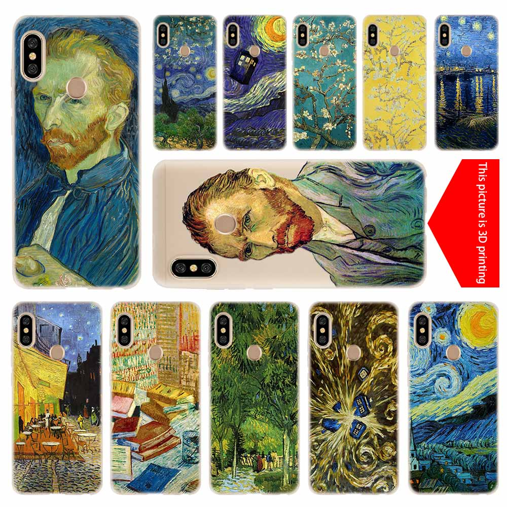 Phone Bags & Cases Intellective Cover Soft Silicone Tpu Case For Xiaomi Redmi 3 4x 4a 5 Plus 5a S2 6a 6 Pro Note 7 5 6 4 3 5a Prime Doctor Who Van Gogh Art Perfect In Workmanship Cellphones & Telecommunications