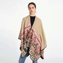New Brand Echarpe Hiver Femme Rhombus Tartan Foulard Bufandas Mujer 2016 Fashion Pashmina Women Shawls YJWD774