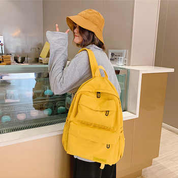 2019 New Waterproof Nylon Backpack For Women Student School Backpack Bags For Teenagers Casual Multi Pocket Travel Backpacks