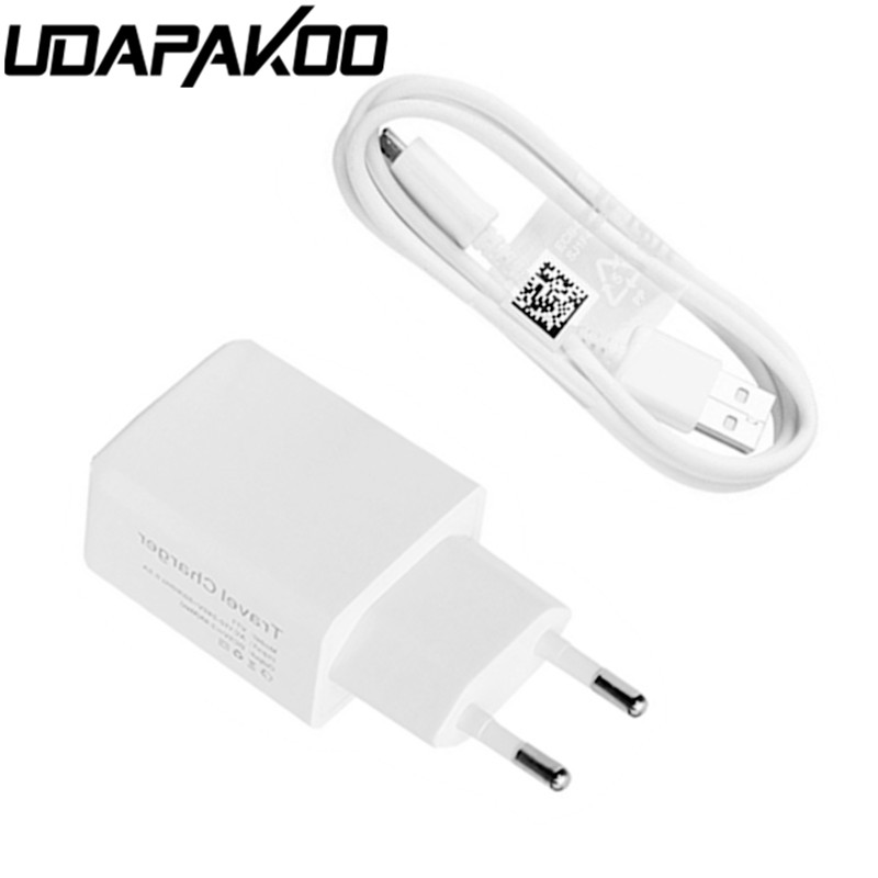 EU/US plug Travel <font><b>Wall</b></font> <font><b>Charger</b></font> Adapter + 1M micro USB Cable line for samsung galaxy xiaomi lg nokia lenovo android Mobile phone