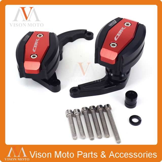 CNC Crash Pad Frame Slider Protection Guard For Honda CBR600RR CBR ...