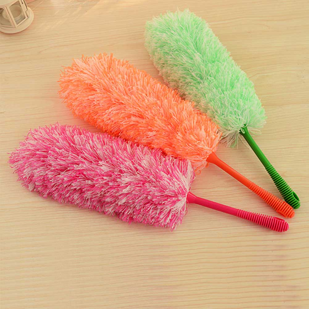 Ultrafine Fiber Household Cleaning Car Handle Dust Duster Soft Feather Brush Cleaning Brushes