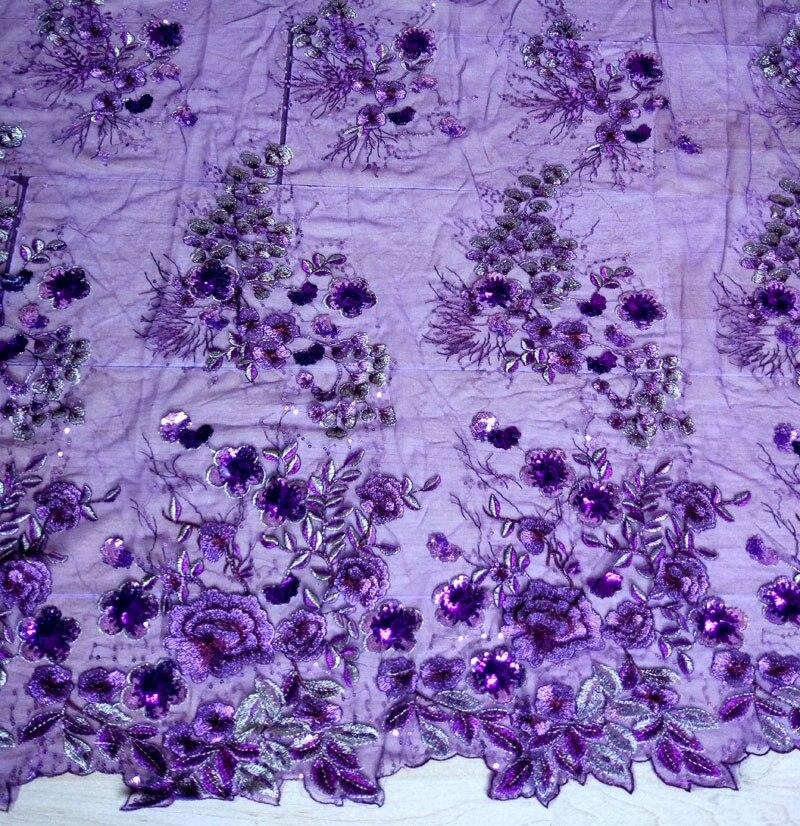 Hot Cover filc organza cvet afriška tkanina, vezenje tkanine - Umetnost, obrt in šivanje - Fotografija 6