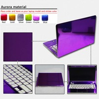 New Pure Color ABC Sides Laptop Sticker Dustproof Skins For Lenovo IdeaPad 100S 14 Ideapad 310