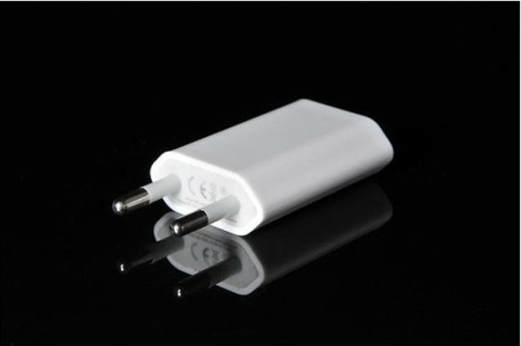 Eu Charger Ac Usb Power Adapter Home Wall Charger Eu Plug Use For Apple Ipod Iphone 4 5 Bs09 In