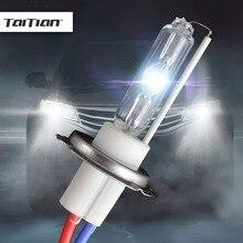 Taitian 2Pcs 12V 100W bulb h7 super white Hid Xenon Kit 6000K 4300K Canbus Xenon h7