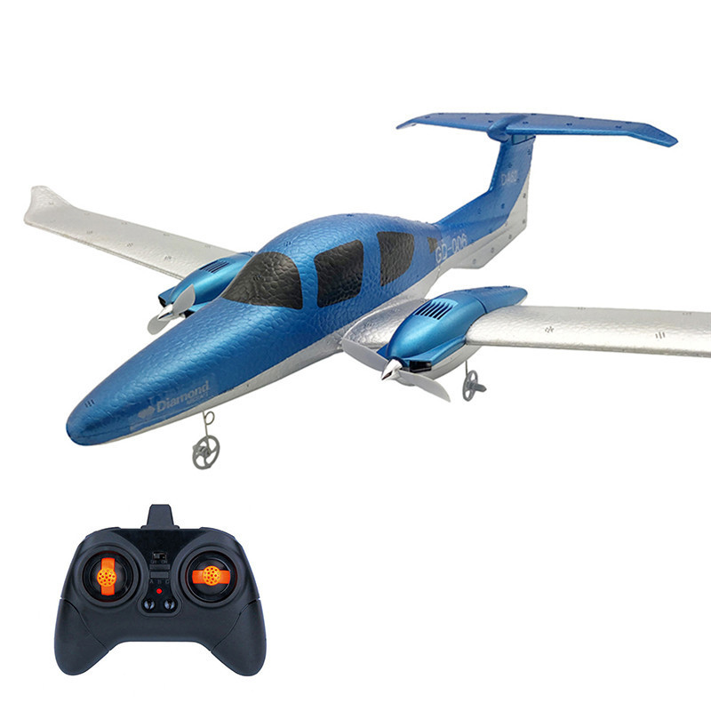 DIY Fixed Wing EPP RC Plane Foam Remote Control Aircraft GD006 Outdoor Toy For Children Christmas Gifts building blocks 82028 jurassic world indominus rex tyrannosaurs t rex building blocks toys dinosaur bricks children gift toys