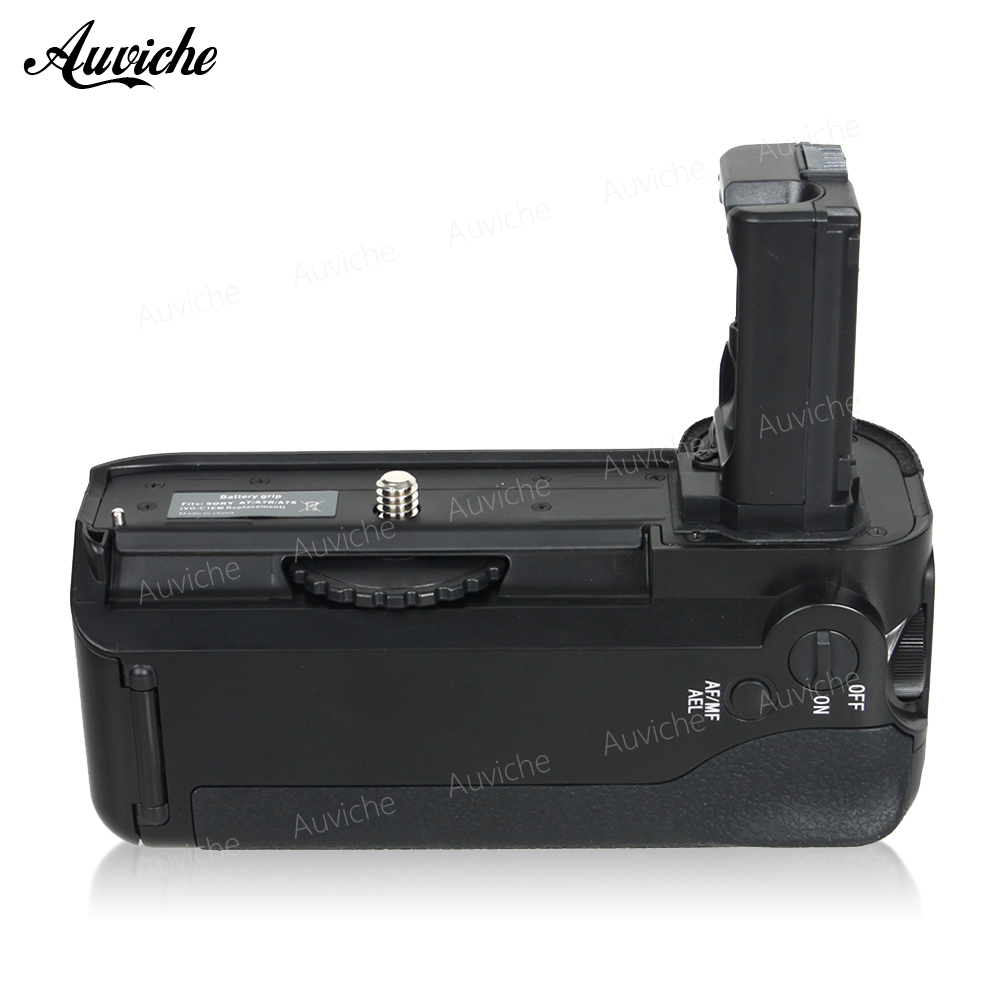 Vertical Battery Grip VG-C1EM for two NP-FW50 battery For SONY A7/A7R/A7S Camera meike wireless control battery grip for sony a7 a7r a7s as vg c1em 2 np fw50 battery battery charger