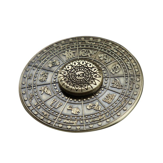 OCDAY Fid Spinner Toy Egyptian Zodiac Sign Mummy 12 Constellation