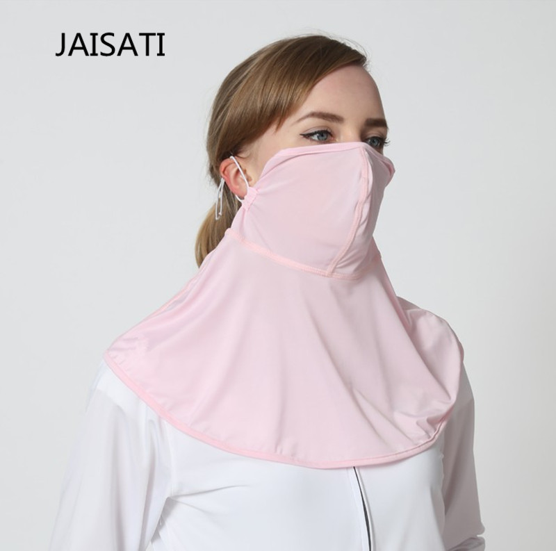 JAISATI Anti-UV mask with shade sunscreen sun  outdoor protective mask glaupsus gj01 in ear 3 5mm super bass microphone earphones earplug stereo metal hifi in ear earbuds for iphone mobile phone