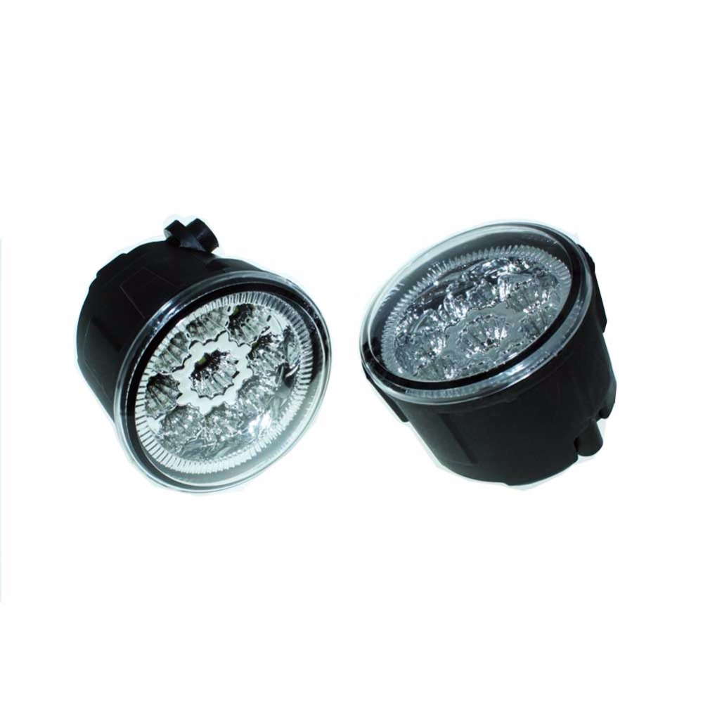 2pcs For NISSAN Note E11 MPV 2006-2015 Car Styling Front Fumper LED fog Lights high brightness fog lamps H11