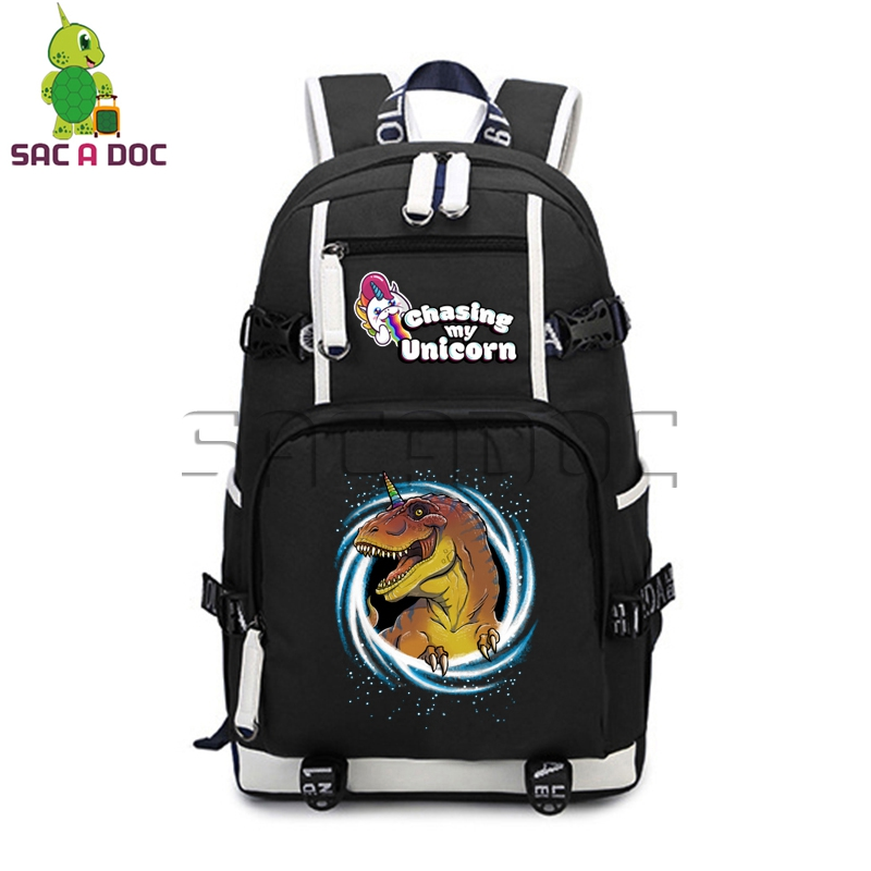 Crazy Universe Dinosaur Unicorn Backpack College Student Book Bags Computer Backpacks Women Men Travel BagCrazy Universe Dinosaur Unicorn Backpack College Student Book Bags Computer Backpacks Women Men Travel Bag
