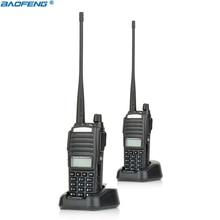 2pcs New Portable Radio Walkie Talkie Baofeng UV-82 With Earphone Button CB Ham Radio Vhf Uhf Dual Band Baofeng UV 82 UV82