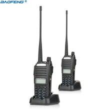 2 pcs Nouveau Portable Radio Talkie Walkie Baofeng UV-82 Avec Écouteurs Bouton CB Ham Radio Vhf Uhf Double Bande Baofeng UV 82 UV82