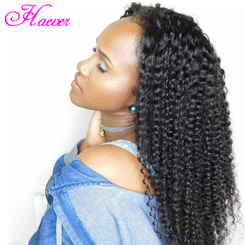 Lace Front Human Hair Wigs Brazilian Natural Wave Human Hair Wig Pre Plucked with Baby Hair Curly lace front wig(China)