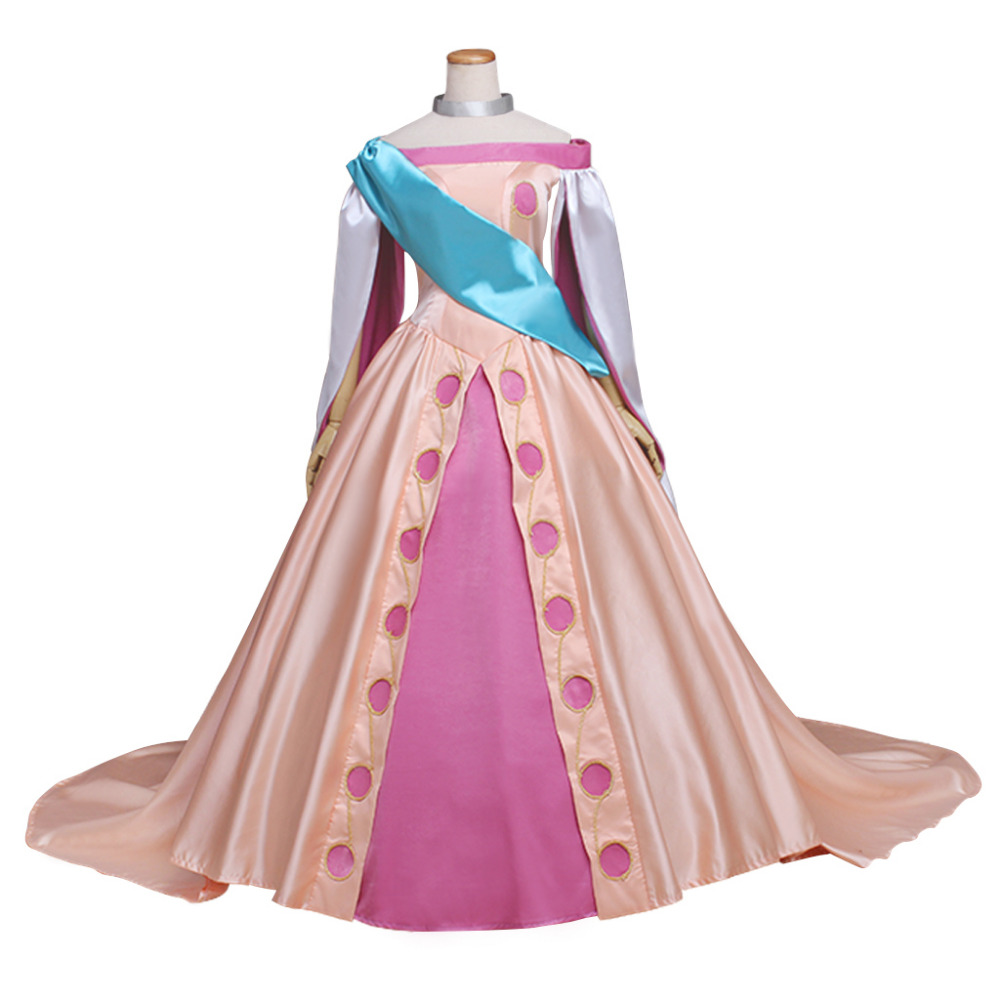 Princess Anastasia Fancy Cosplay Dress Princess Cosplay Costume For Adult Women Halloween Party Custom Made