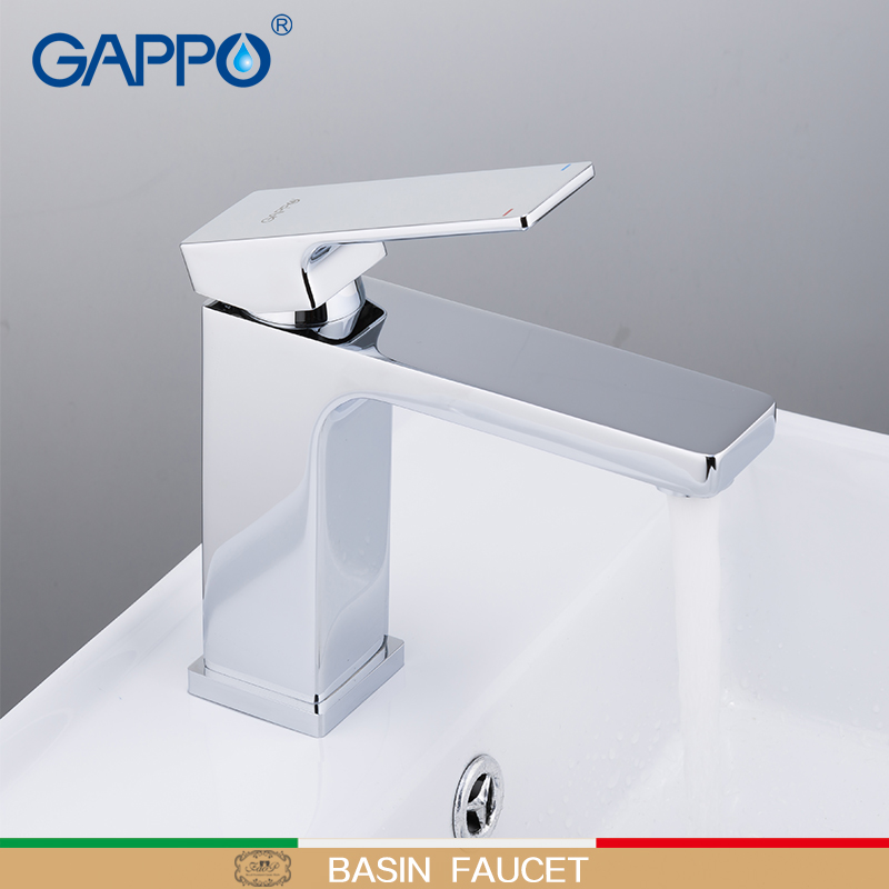 GAPPO Basin Faucets chrome deck mounted tap waterfall brass basin faucet water taps griferia faucet tap