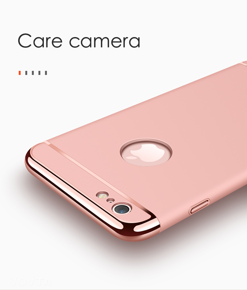 VOVTA Luxury Anti-Knock Cases For iPhone 6 8 7 Plus Case Plating Shockproof Full Cover For iphone 7 6s 8 Plus Phone Case9