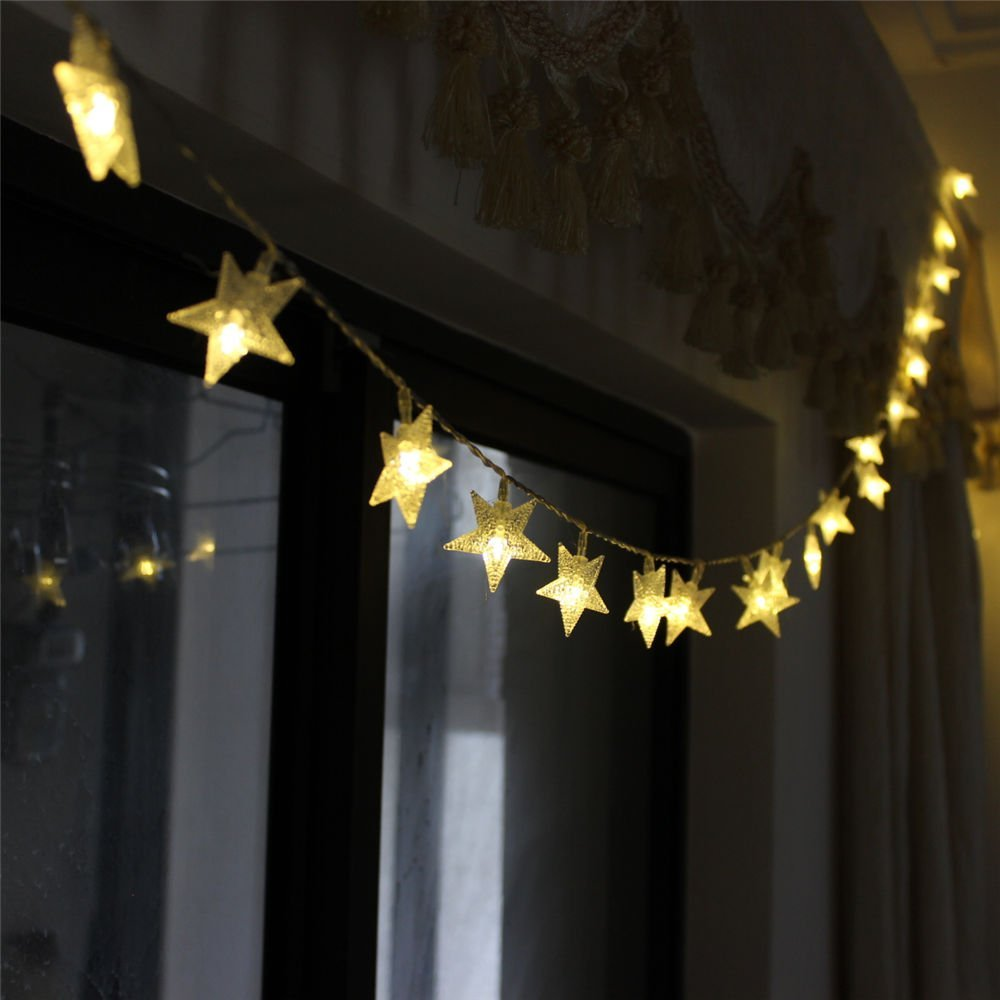 Delicieux 2M LED Star String Lights LED Fairy Lights Christmas Holiday Wedding  Decoration Lights AA Battery Operate Decoration Star Lights In LED String  From Lights ...