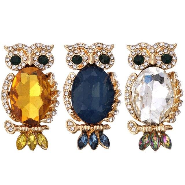 5 sztuk/partia 2019 nowy sowa przystawki przycisk biżuteryjny miłość duża złota sowa przystawki przycisk dla zwierząt Fit 18mm Snap bransoletka bransoletka dla kobiet mężczyzn