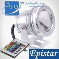 20 pc AC12v DC12V 10 W RGB Led luz subacuática fuente piscina lámpara impermeable