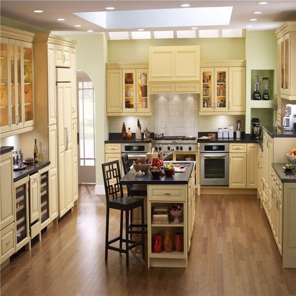 Grandes diseños de gabinete de cocina con isla en Gabinetes de ...