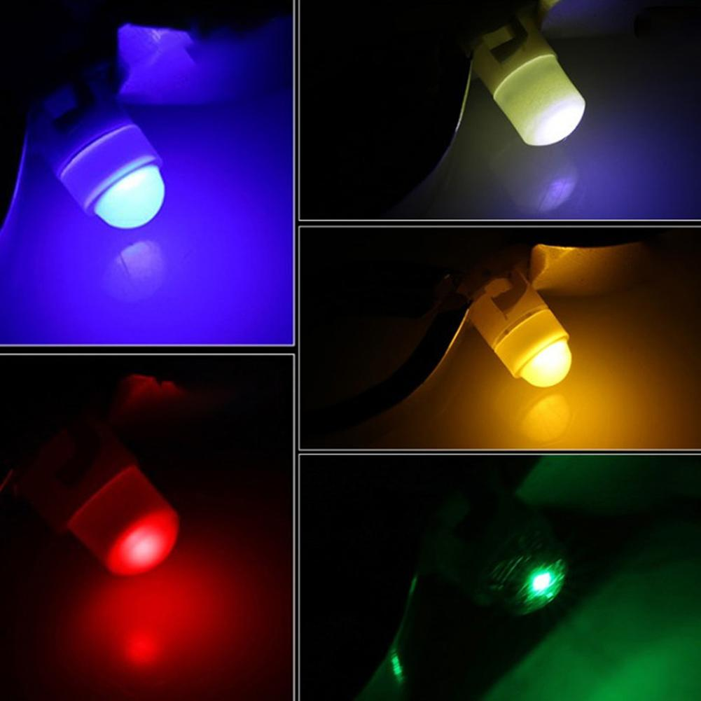 10Pcs <font><b>T3</b></font> LED 1SMD <font><b>12V</b></font> Car Dashboard Indicator Light Interior Reading Lamp Bulbs image