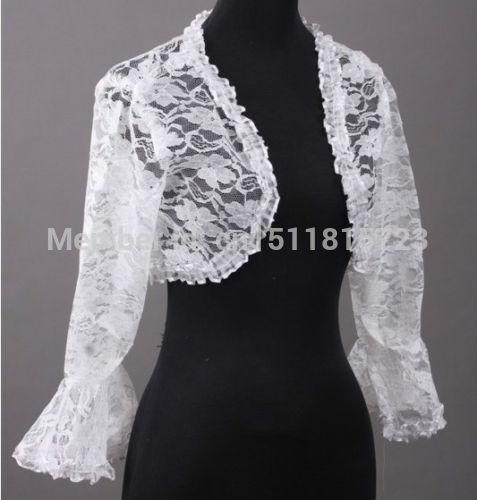 Hot 5 Colour Bridal Lace Bolero Jacket Shawl Wraps Cape Pashmina Wedding Dress  Wrap