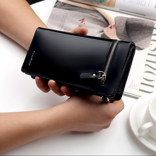 High Quality Women  Wallet High Imation Leather Cark Holder