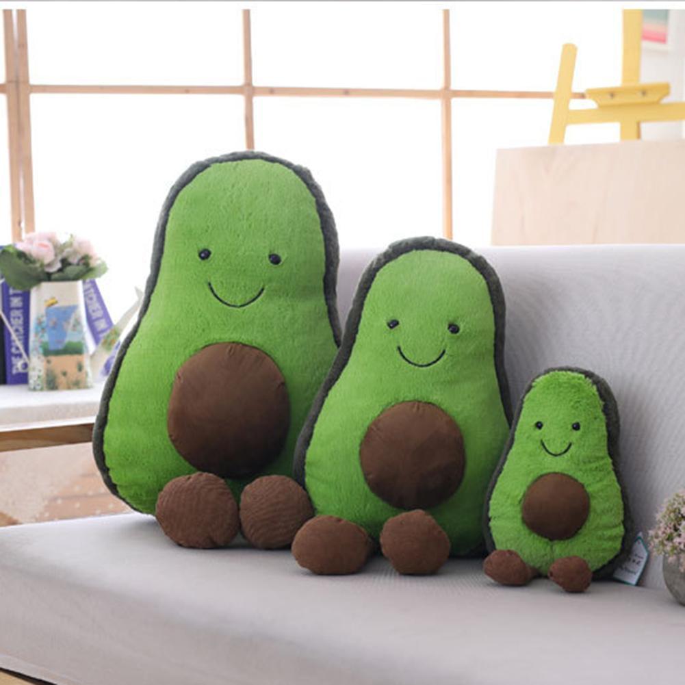45/35/22cm Avocado Doll Plush Toy Avocado Innovative Fruit Plush Toy For Kids