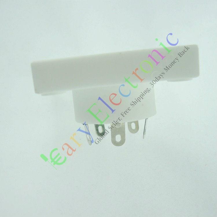 Wholesale and retail 2PCS 5 PIN ceramics shuguang VACCUM TUBE SOCKET SAVER AUDIO tube amp DIY parts  free shipping