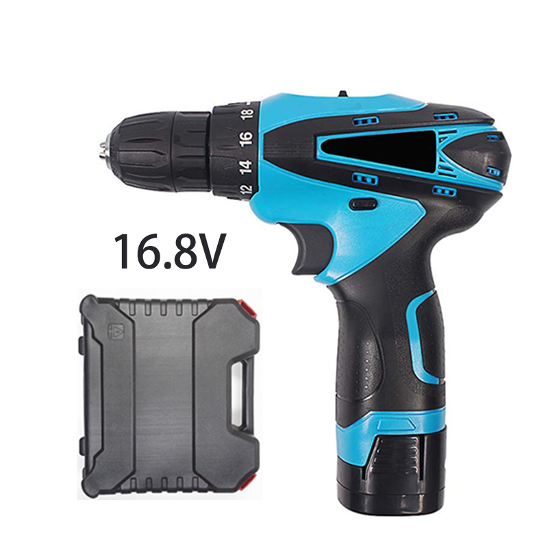16.8V multi-function mini electric screwdriver electric tools cordless screwdriver with lithium battery home toolbox  цены