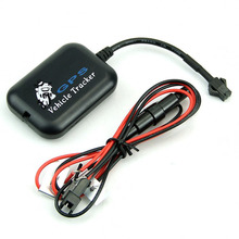 Wholesale Mini Motorcycle Bike Vehicle GPS Tracker anti theft system watch LBS+SMS/GPRS GSM Alarm