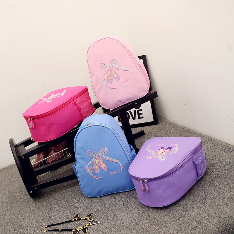 The New Dance Package Female Dance Package Backpack Ballet Shoes Children Dance Package Dance Package Can Be Printed