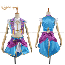 Kisstyle Fashion Love Live! Eli Ayase Dancing Stars On Me Uniform Cosplay Clothing Costume,Customized Accepted