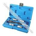 5 UNIDS Diesel Inyector Cortador Del Asiento Set de Herramientas Cleaner Kit de Herramientas De Corte De Carbono